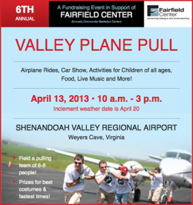 6th Valley Plane Pull benefiting Fairfield Center